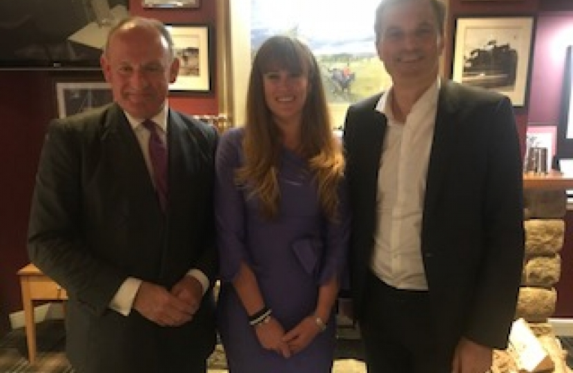 Nick Bannister, Kelly Tolhurst MP, Julian Smith MP