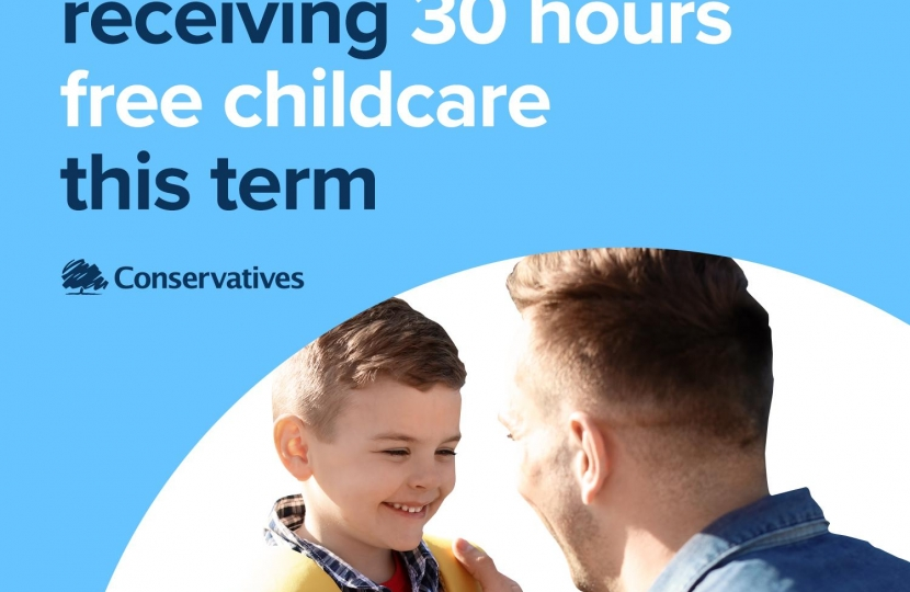 325,000 children receiving 30 hours free childcare this term