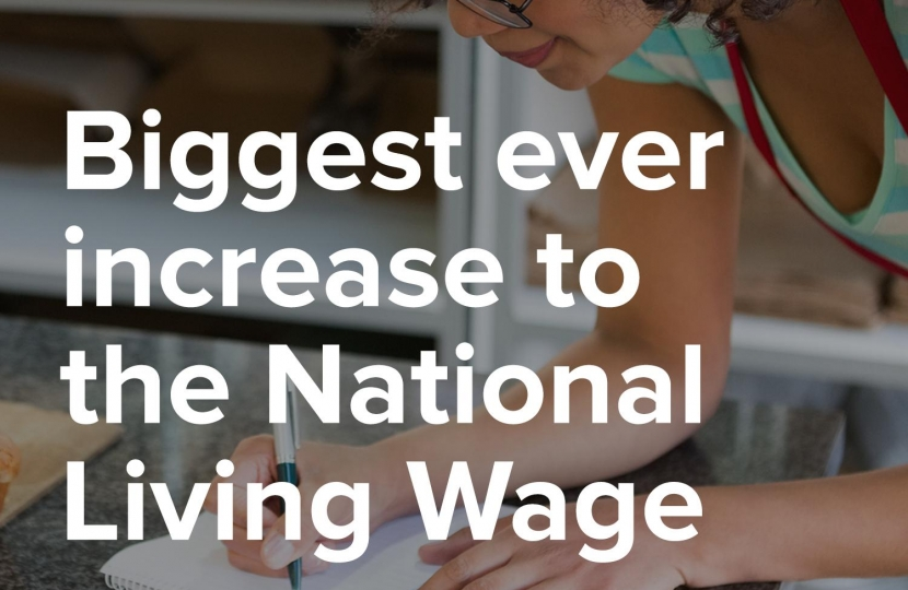 Biggest ever increase to the National Living Wage